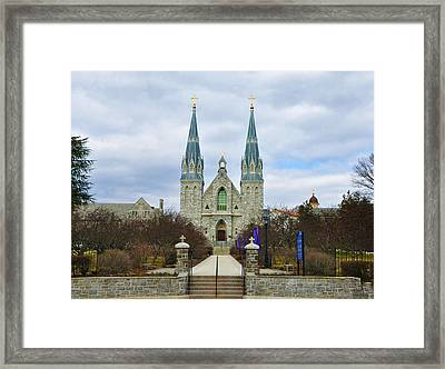 Villanova College Framed Print by Bill Cannon