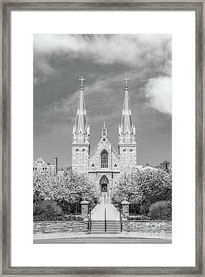 Villanova University St. Thomas Chapel Framed Print