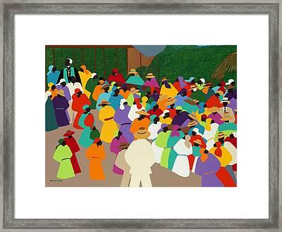 Ville Bonheur Framed Print