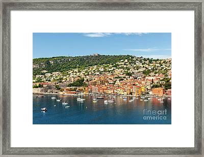 Villefranche-sur-mer Framed Print by Elena Elisseeva