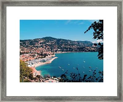 Villefranche Sur Mer Framed Print by FCremona
