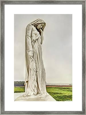 Vimy Memorial - Canada Bereft Framed Print
