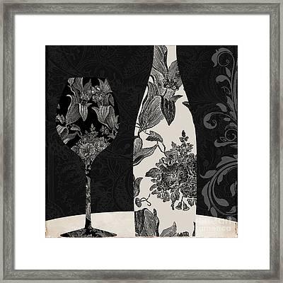 Vin Elegant Framed Print