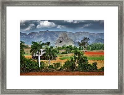 Vinales. Pinar Del Rio. Cuba Framed Print by Juan Carlos Ferro Duque