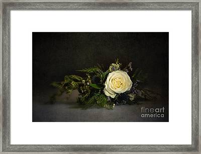Vinatge Bouquet Framed Print