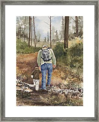 Vince And Sam Framed Print