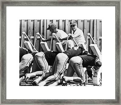 Vince Lombardi (1913-1970) Framed Print