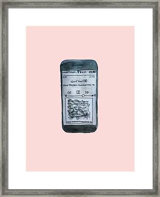 Vince Staples Framed Print