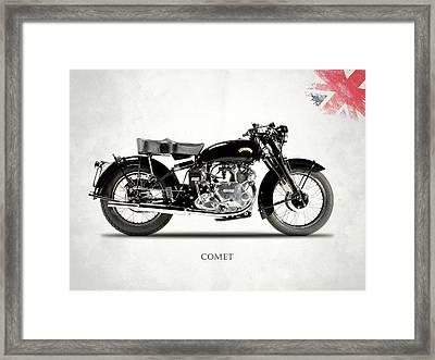 Vincent Comet Series C Framed Print by Mark Rogan