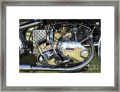 Vincent Comet Framed Print