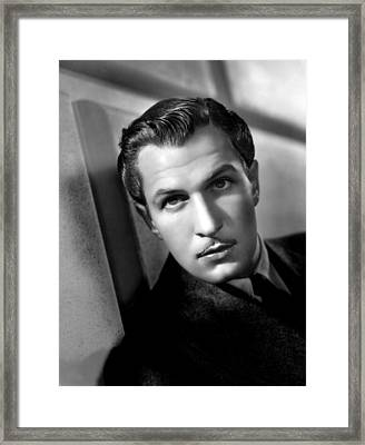Vincent Price, Universal Pictures, C Framed Print