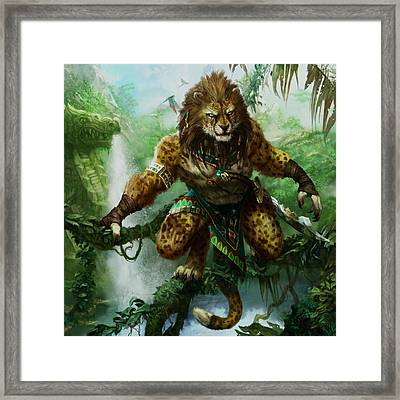 Vinerunner Hunter Framed Print by Ryan Barger