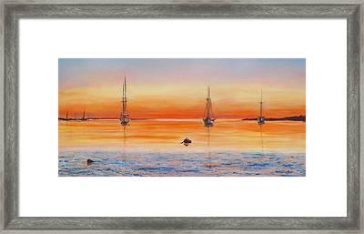Vineyard Haven Framed Print