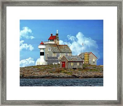 Vingleia Lighthouse Framed Print
