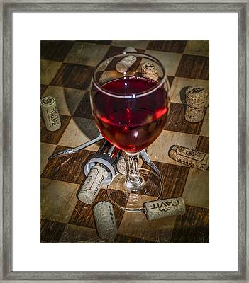 Vino Framed Print by Bill Cannon