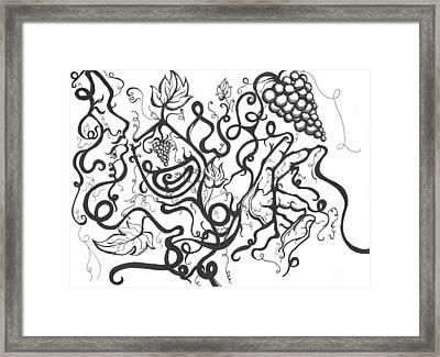 Vino Dream Framed Print