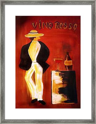 Vinorosso Framed Print by Helmut Rottler