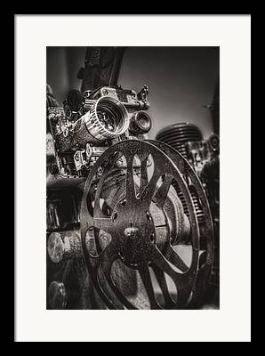 Spool Framed Prints