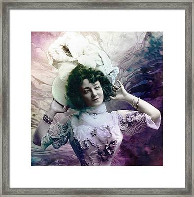 Vintage 1900 Fashion Framed Print