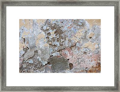 Vintage Abstract II Framed Print by Elena Elisseeva