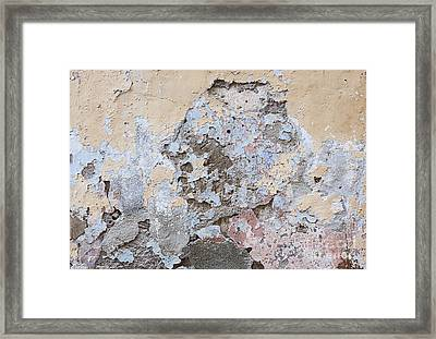 Vintage Abstract IIi Framed Print by Elena Elisseeva