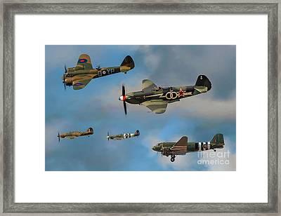 Vintage Aircraft Framed Print