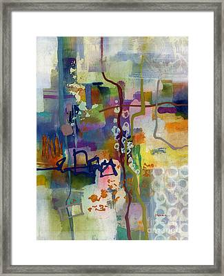 Framed Print featuring the painting Vintage Atelier 2 by Hailey E Herrera