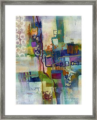 Framed Print featuring the painting Vintage Atelier by Hailey E Herrera