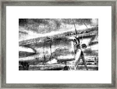 Vintage Aviation Framed Print