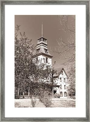 Vintage Batsto Framed Print by Olivier Le Queinec