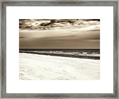 Framed Print featuring the photograph Vintage Beach Haven by John Rizzuto