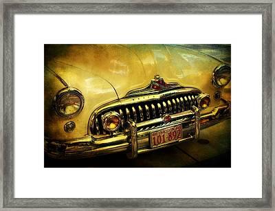 Vintage Buick Road Master Framed Print