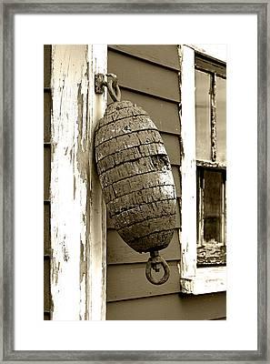Vintage Buoy Framed Print