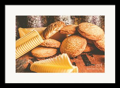 Oatmeal Photographs Framed Prints