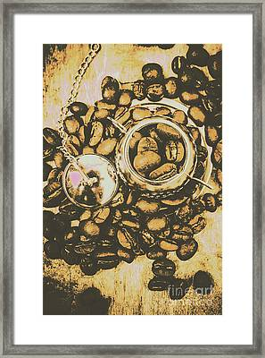 Vintage Cafe Artwork Framed Print by Jorgo Photography - Wall Art Gallery