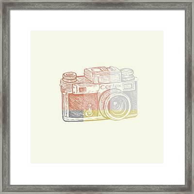 Vintage Camera 2 Framed Print
