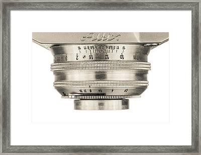 Vintage Camera - 4 Framed Print by Rudy Umans