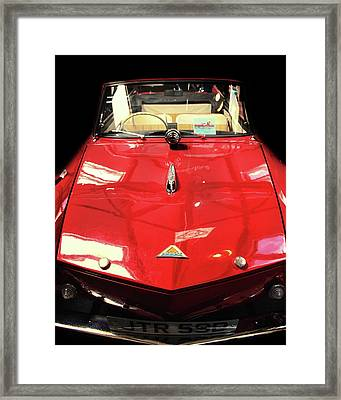 Vintage Car Framed Print by Martin Newman