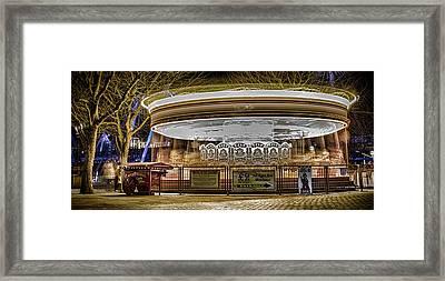 Vintage Carousel Framed Print