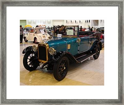 Vintage Cars 6 Framed Print by Mike Holloway
