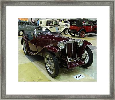 Vintage Cars 9 Framed Print by Mike Holloway
