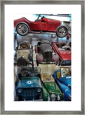 Vintage Cars Framed Print