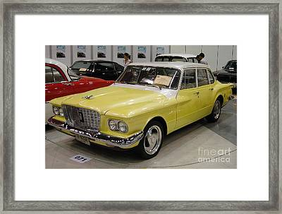 Vintage Cars Framed Print by Mike Holloway