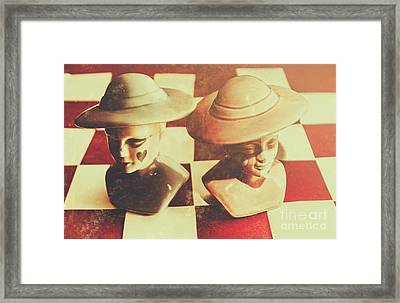 Vintage Chess Piece Monarch Framed Print by Jorgo Photography - Wall Art Gallery