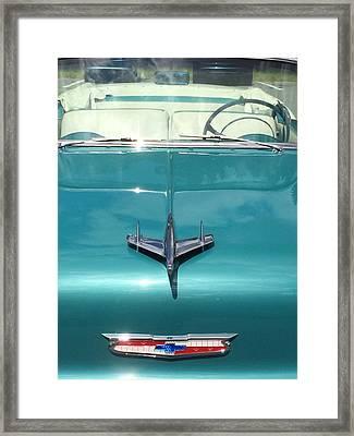 Vintage Chevy Framed Print