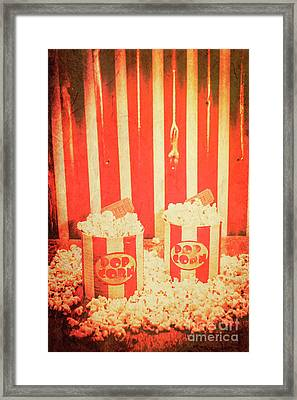 Vintage Classical Cinema Interval Concept Framed Print by Jorgo Photography - Wall Art Gallery