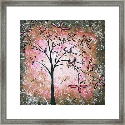Vintage Couture By Madart Framed Print by Megan Duncanson