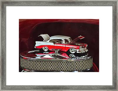 Vintage Cruisers 13 Framed Print by Cindy Nunn
