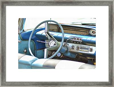 Vintage Cruisers 75 Framed Print by Cindy Nunn