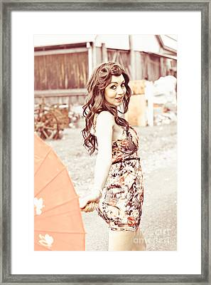 Vintage Dance Framed Print by Jorgo Photography - Wall Art Gallery